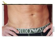 Swimmer Torso Palm Springs Carry-all Pouch by William Dey
