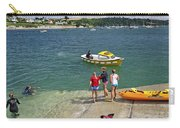 Swimmers On The Slipway - St Mawes Carry-all Pouch