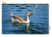 Swimming African Brown Goose Carry-all Pouch