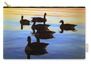 Swimming Geese Carry-all Pouch