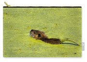 Swimming In Pea Soup - Baby Muskrat Carry-all Pouch
