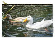 Swimming In The Pond Carry-all Pouch