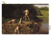Swimming Carry-all Pouch by Thomas Eakins