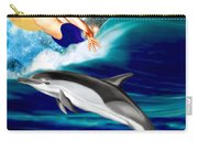 Swimming With Dolphins Carry-all Pouch