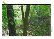 Swirled Forest 1 - Digital Painting Effect Carry-all Pouch