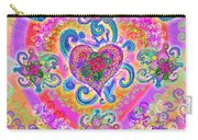 Swirley Heart Variant 1 Carry-all Pouch