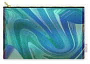 Swirling Abstract Carry-all Pouch