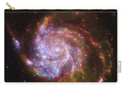 Swirling Red Galaxy Carry-all Pouch