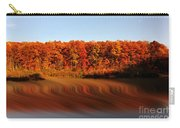 Swirling Reflections With Fall Colors Carry-all Pouch by Dan Friend