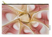 Swirls Of Red And Gold Carry-all Pouch