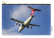 Swiss Air Bae146 Hb-ixw Carry-all Pouch