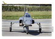 Swiss Air Force F-5e Tiger Recovering Carry-all Pouch