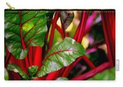 Swiss Chard Forest Carry-all Pouch by Karen Wiles