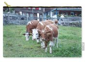 Swiss Cows Carry-all Pouch