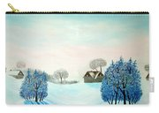 Swiss Opus Blue Christmas Carry-all Pouch