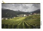 Swiss Vineyard Carry-all Pouch