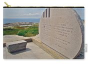 Swissair Flight 111 Of 1998 Memorial In Whalesback-ns Carry-all Pouch