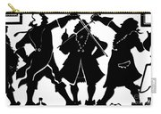 Sword Duel Silhouette  Carry-all Pouch