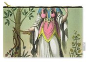 Sybil Of Delphi, No. 15 From Antique Carry-all Pouch