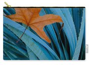 Sycamore Leaf And Sotol Plant Carry-all Pouch
