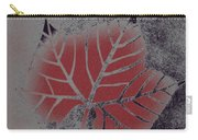 Sycamore Leaf Carry-all Pouch