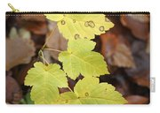 Sycamore Leaves Germany Carry-all Pouch
