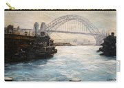 Sydney Ferry Wharves 1950's Carry-all Pouch