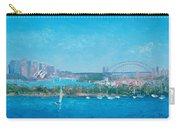 Sydney Harbour And The Opera House By Jan Matson Carry-all Pouch