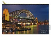 Sydney Harbour Bridge By Night Carry-all Pouch