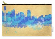 Sydney In Blue Carry-all Pouch