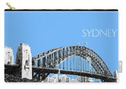 Sydney Skyline 2 Harbor Bridge - Light Blue Carry-all Pouch