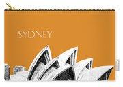 Sydney Skyline 3  Opera House - Dark Orange Carry-all Pouch