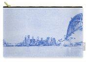 Sydney Skyline Blueprint Carry-all Pouch