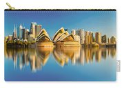 Sydney Skyline With Reflection Carry-all Pouch