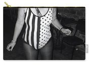 Sylver Short Halloween Tucson Arizona 1990 Black And White Carry-all Pouch