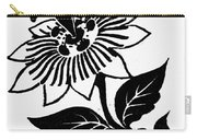 Symbol Passion Flower Carry-all Pouch