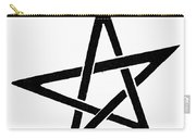 Symbol Pentacle Carry-all Pouch