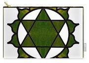 Symbolic Serenity Abstract Chakra Art By Omaste Witkowski  Carry-all Pouch