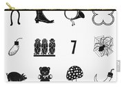Symbols Good Luck Carry-all Pouch