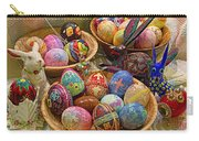 Symbols Of Easter- Spiritual And Secular Carry-all Pouch