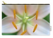 Symmetrical Flower Closeup Carry-all Pouch
