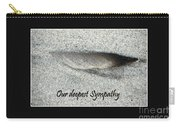 Sympathy Feather Carry-all Pouch