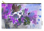 Symphony In Blue And Purple Carry-all Pouch