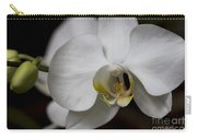Symphony White Orchid Carry-all Pouch