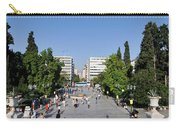 Syntagma Square In Athens Carry-all Pouch