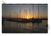 Syracuse Harbor Sunset Carry-all Pouch