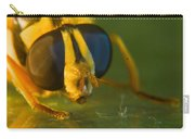 Syrphid Eyes And Antennae Carry-all Pouch