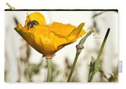 Syrphid Fly And Poppy 2 Carry-all Pouch