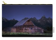 T. A. Moulton Homestead Barn At Night Carry-all Pouch