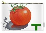 T Art Alphabet For Kids Room Carry-all Pouch by Irina Sztukowski